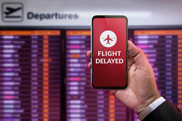航空機遅延費用